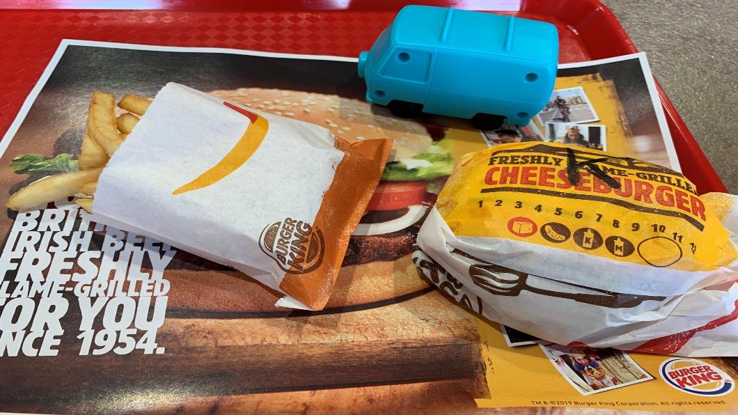 圖/達志影像路透 英國漢堡王停贈塑膠玩具 回收重製餐具
