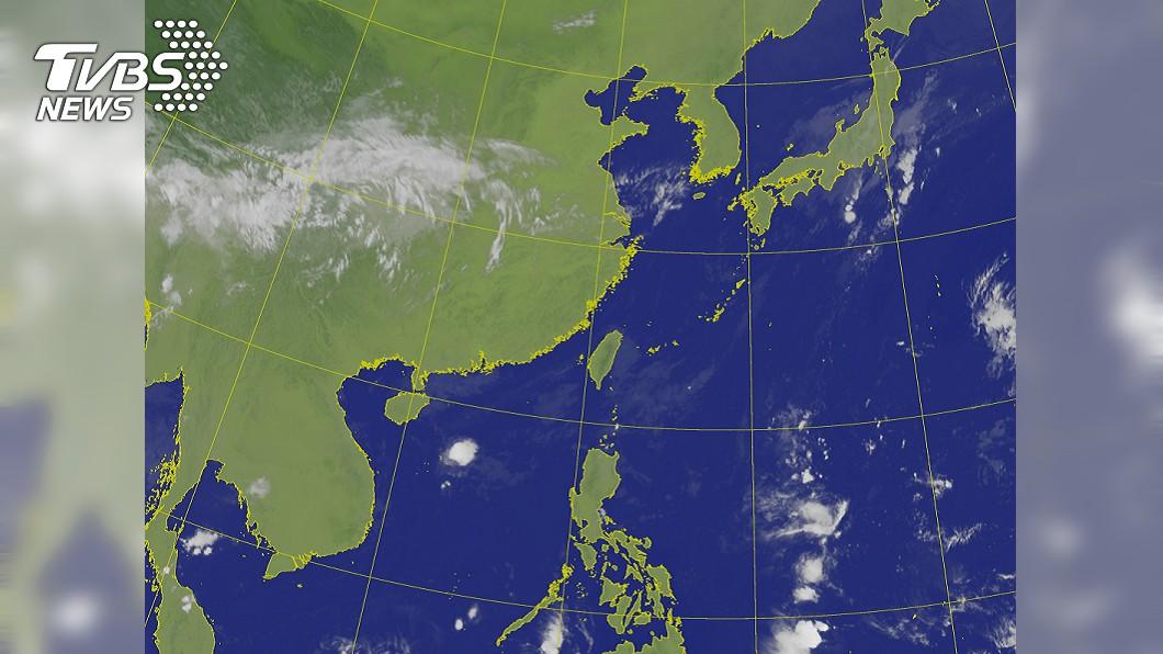 圖/中央氣象局 秋高氣爽天氣再一天 後天起雨又來了