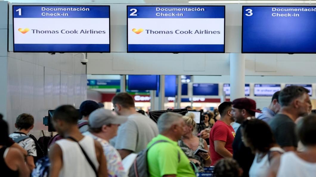 圖/達志影像美聯社 英國百年旅社突倒閉 60萬旅客「被放生」