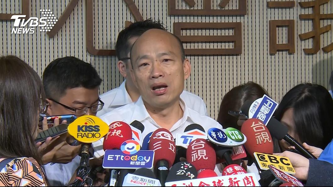 圖/TVBS 「白紙黑字」有證據? 綠拿「市政簡報」打臉韓