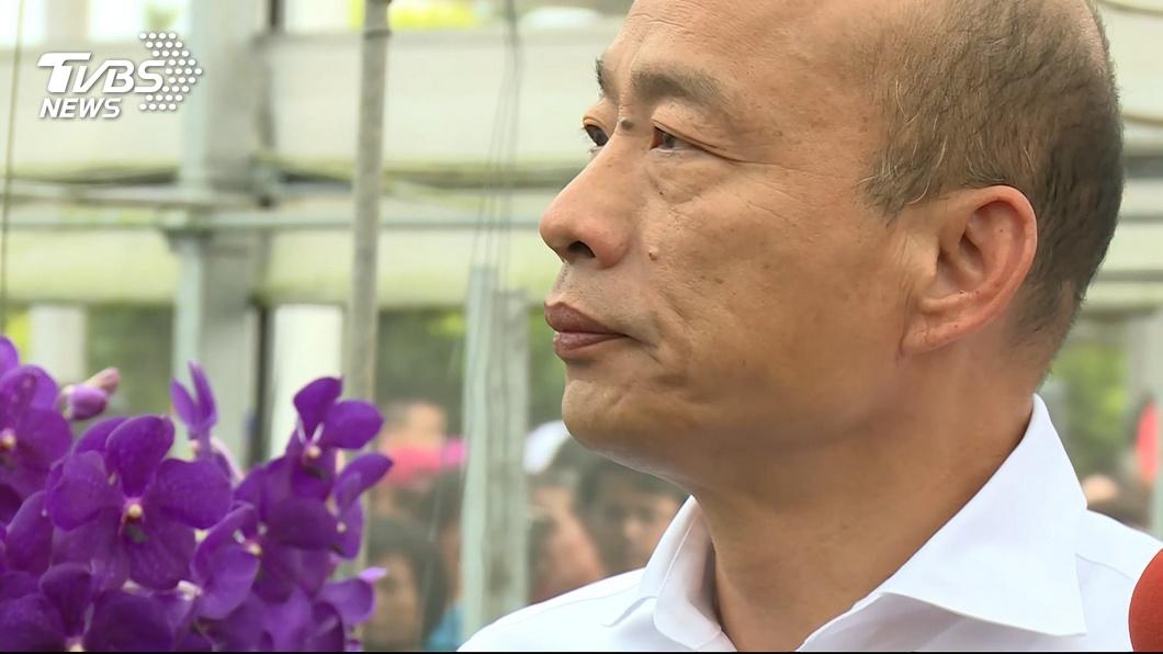 圖/TVBS 困在黑韓白韓個人秀?他談副手名單 喊話韓:別再藏了!