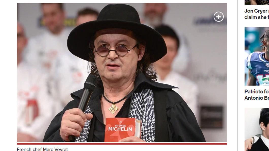 法國名廚韋拉特控訴米其林指南。 圖/翻攝自紐約郵報 米其林餐廳慘遭「拔星」 名廚怒提告:我被羞辱了!
