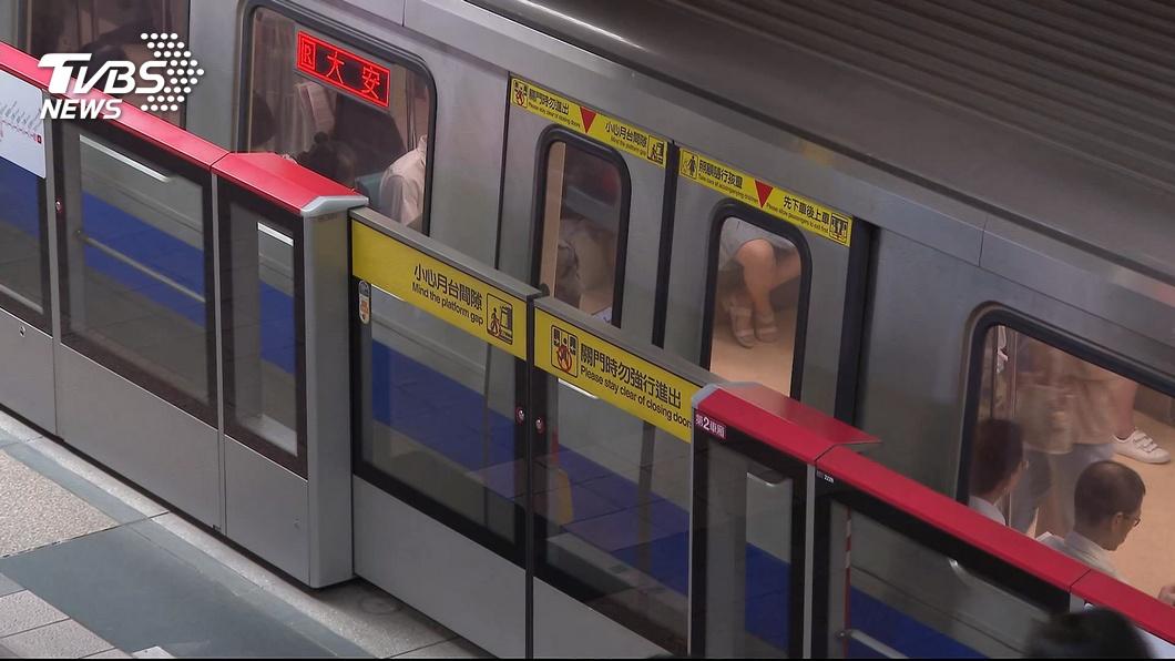 圖/TVBS 擠捷運受不了 網曝乘客最難忍受6大行為