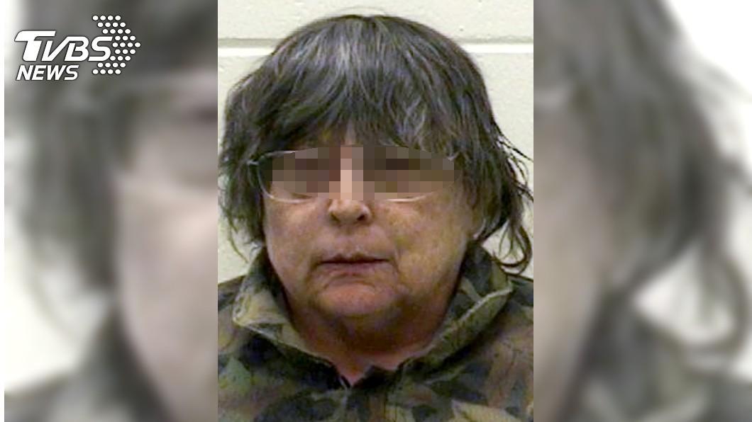美國威斯康辛州60歲女子寶拉(Paula Bergold)在地下室藏母親屍體。圖/達志影像美聯社