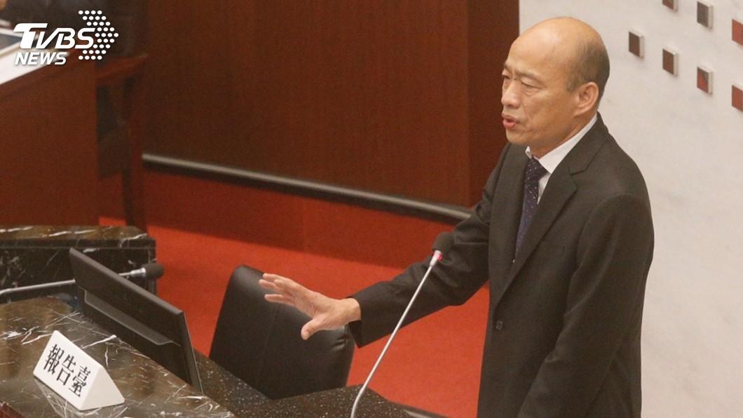 圖/中央社 高市議會質詢用抽籤決定 議員批「民主之恥」