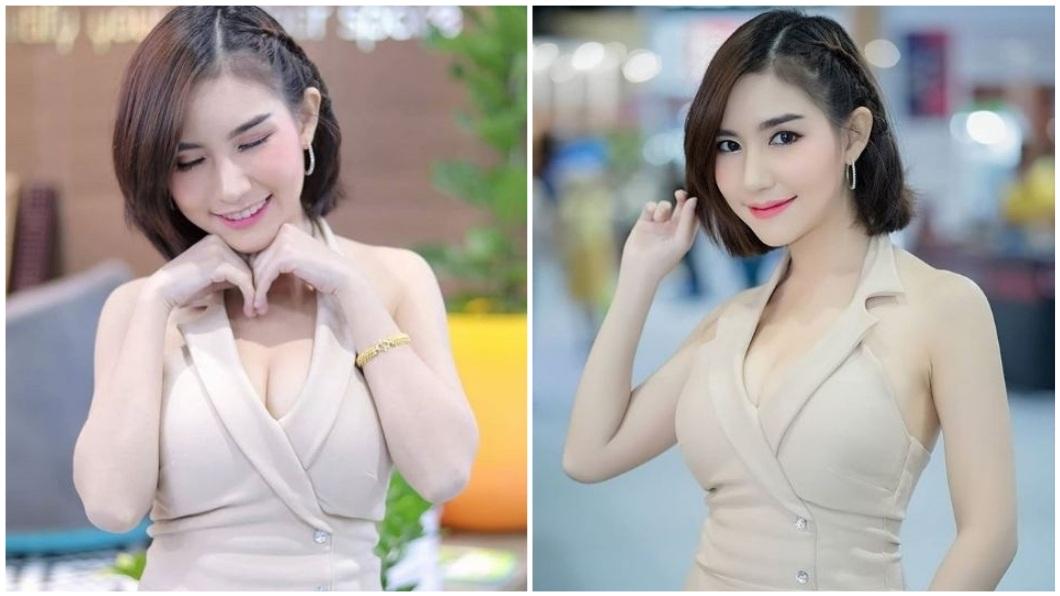 泰國1名美女網紅日前突然暴斃,引發當地警方的關注介入調查。(圖/翻攝自IG) 超胸網紅暴斃沙發 網友搶購:接觸亡靈獲好運