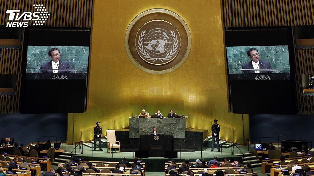 圖為太平洋友邦帛琉總統雷蒙傑索。圖/達志影像美聯社 聯合國健康覆蓋與氣候變遷會議 4友邦發言挺台
