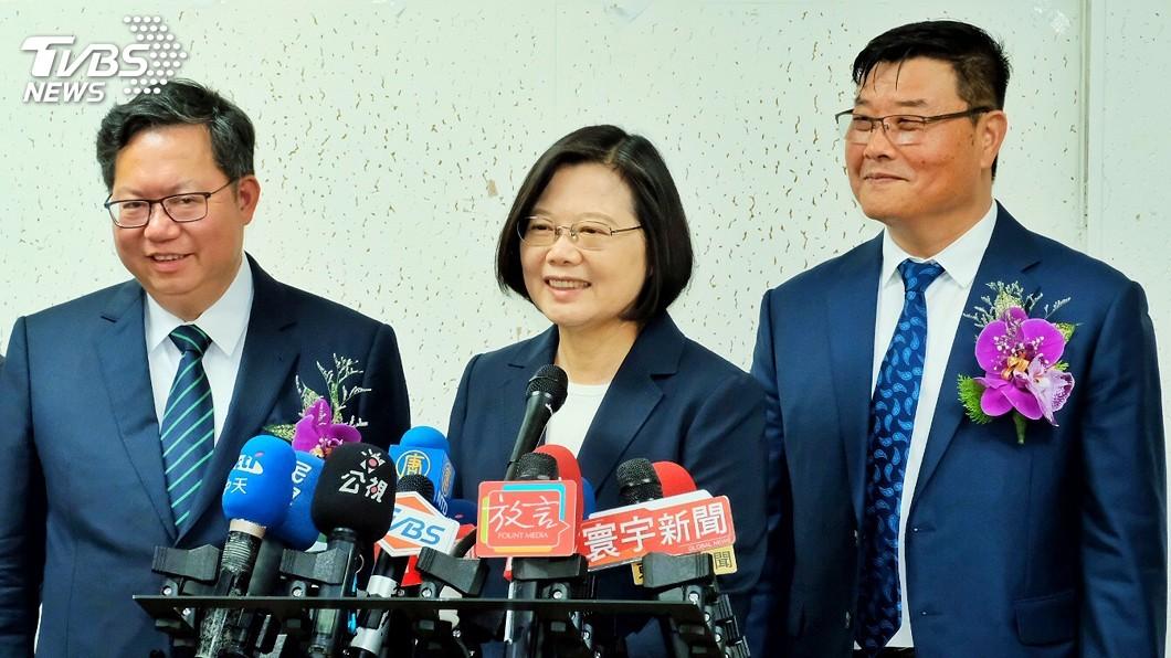 圖/中央社 《台北法案》受關注 蔡總統:全力鞏固邦交國