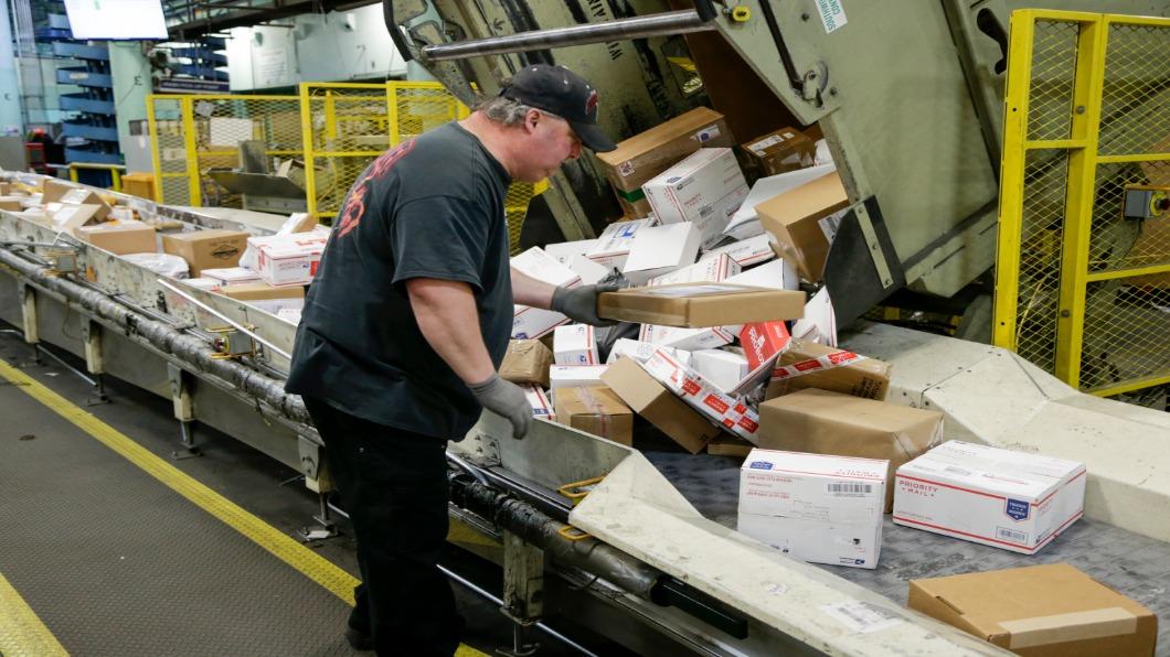 圖/達志影像美聯社 美西寄件紐約比中國寄出貴 美嗆退出郵聯