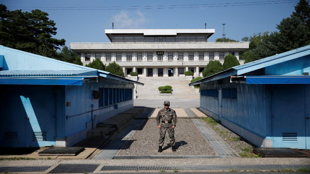 圖/達志影像路透 停戰區變國際新地標 南韓板門店和平計畫
