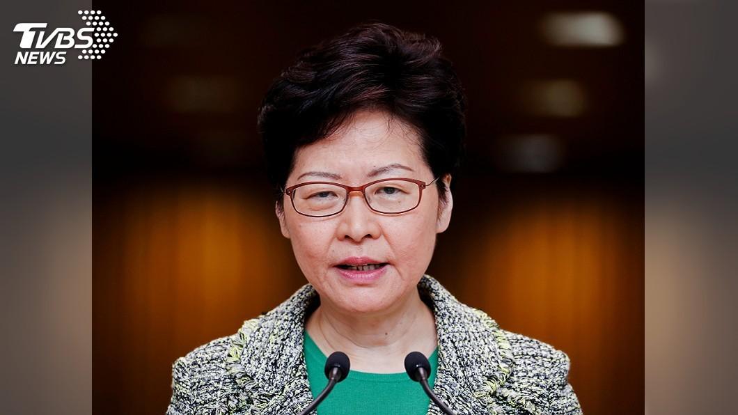 圖/達志影像路透社 投書紐約時報 林鄭月娥:香港仍有未來