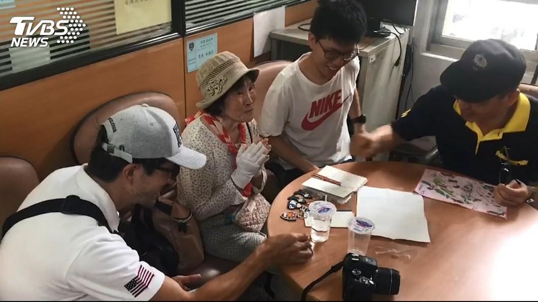 圖/TVBS 警日式宿舍要拆 88歲日婦來台找兒時回憶