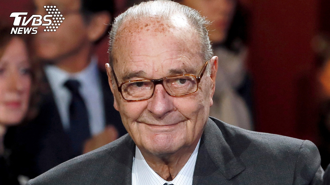 前法國總統席哈克。圖/達志影像路透社 法國前總統席哈克去世 享壽86歲