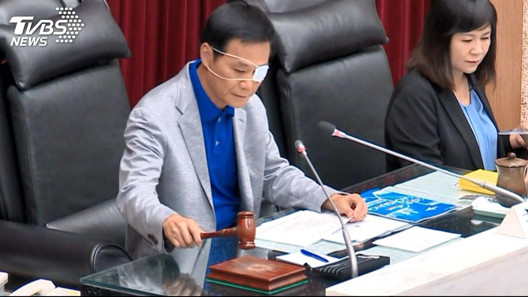(圖/TVBS資料畫面) 國民黨高雄市議長許崑源 驚傳墜樓身亡