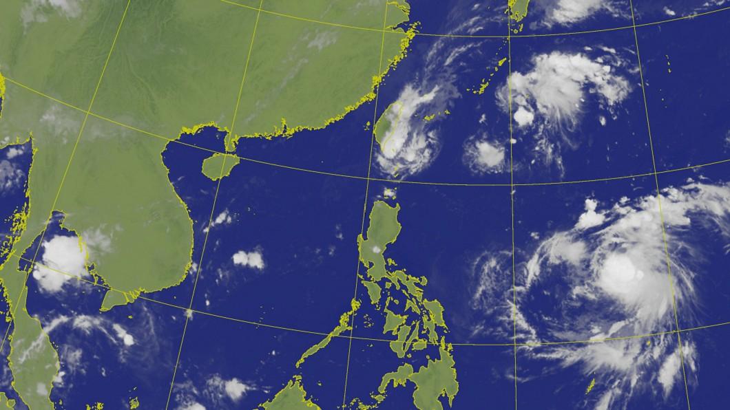 圖/中央氣象局 北部注意豪雨 氣象局:颱風米塔最快今天形成
