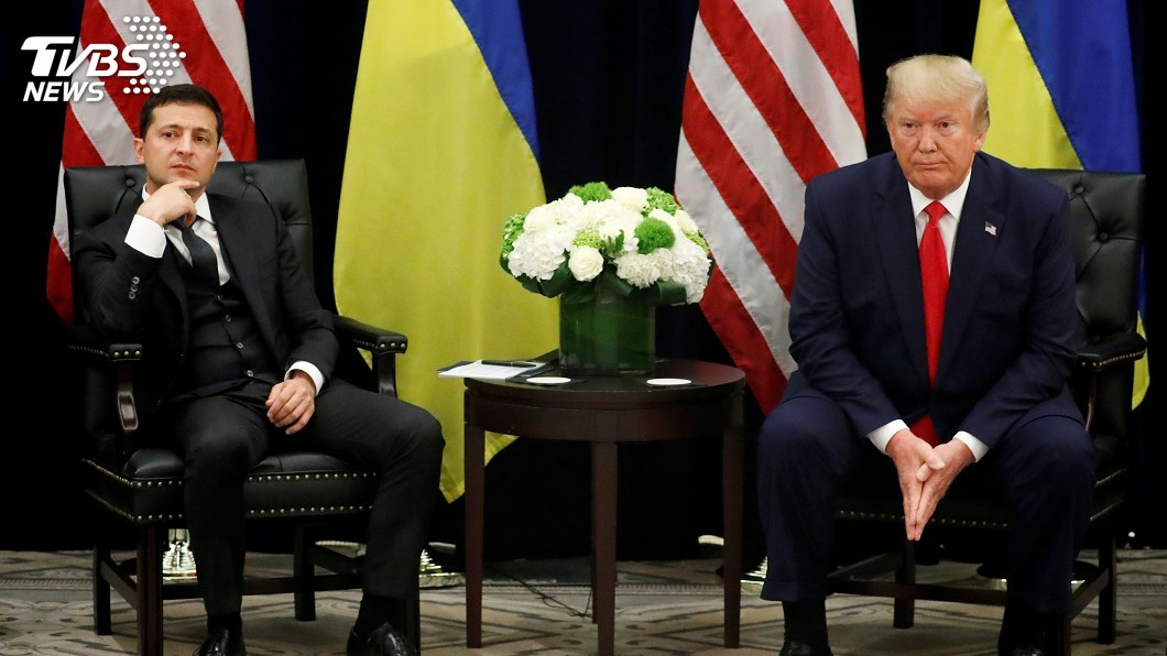 圖/達志影像路透社 川普通話紀錄曝光 烏克蘭各方反應一次看