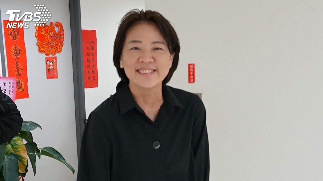 圖/中央社 被徵詢接北市副市長 黃珊珊:會跟宋楚瑜說明