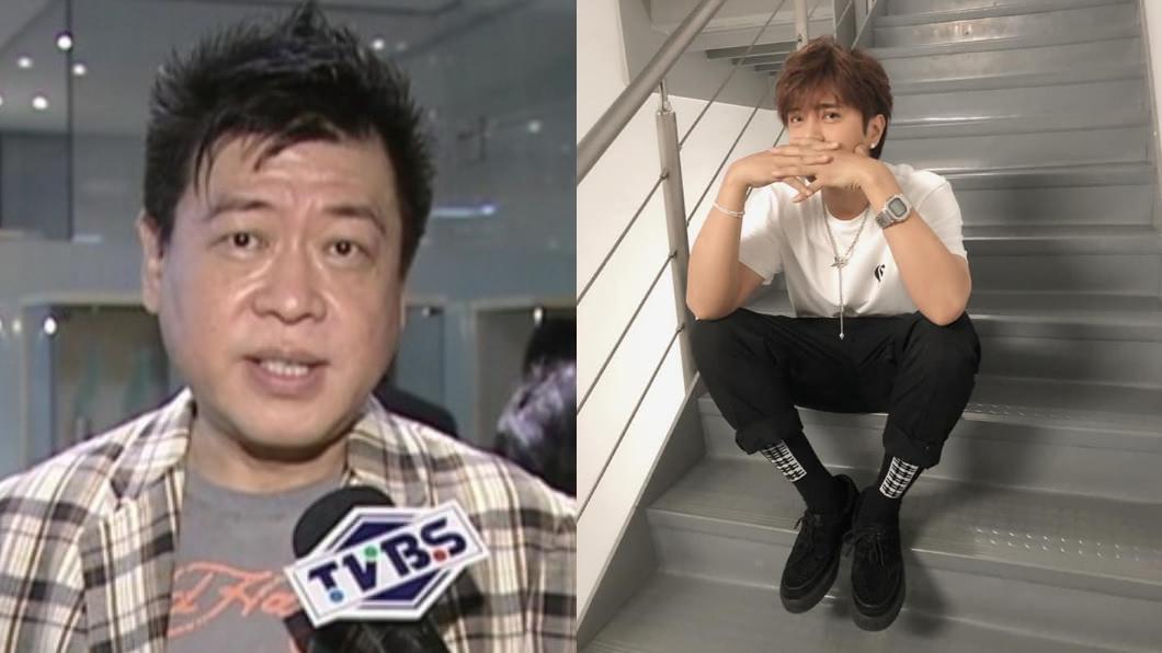 圖/(左)TVBS資料畫面、(右)翻攝自羅志祥 SHOW臉書 當初為何推5566?「偶像教父」揭真相:要打敗羅志祥