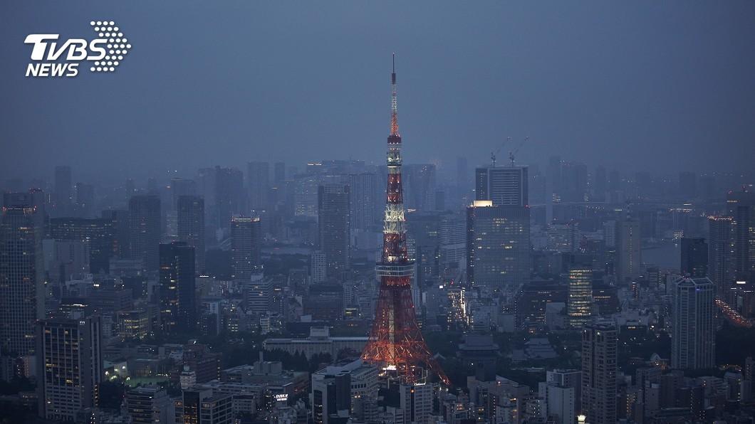 圖/達志影像美聯社 東京鐵塔全新風華 落成一甲子首度大改造