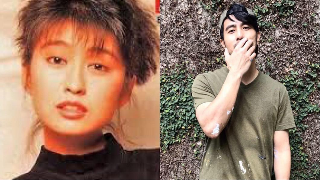 圖/翻攝自網路、郭彥甫臉書 引退19年同框男星!楊林「神凍齡」網看傻:還是那麼美