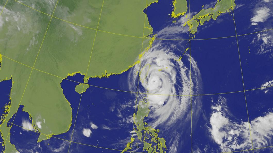 圖/中央氣象局 米塔颱風強度再增強! 路徑恐西偏更靠近台灣