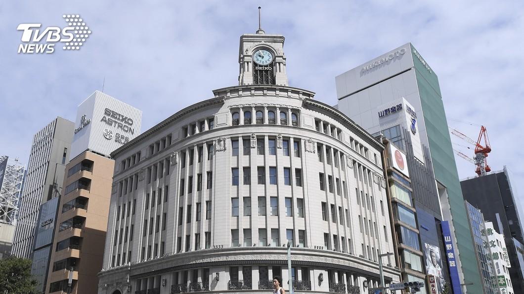 圖/達志影像美聯社 日本10/1漲消費稅 最後週末銀座現人潮