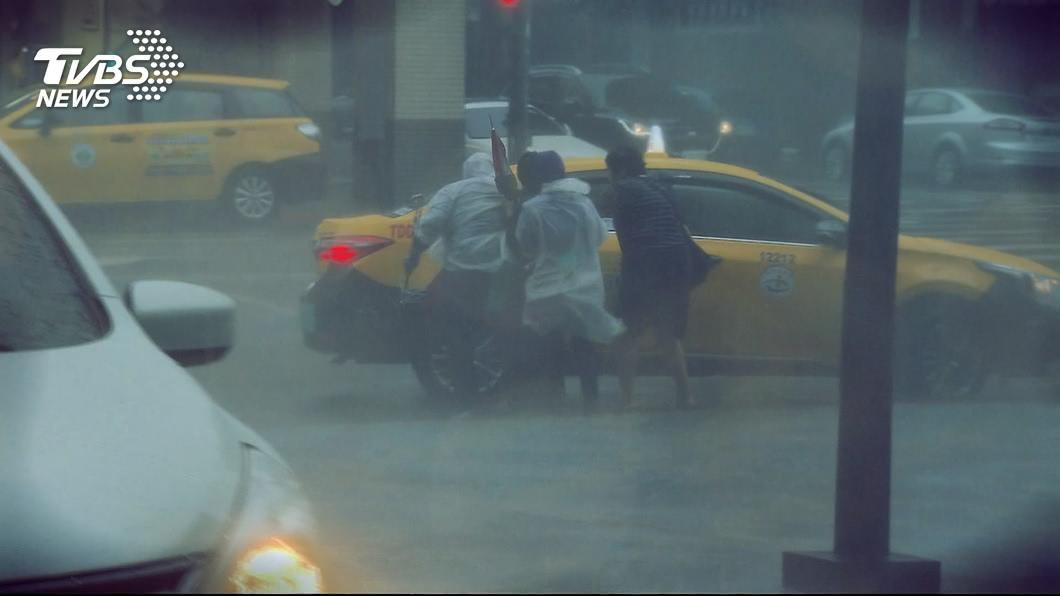 圖/TVBS 留意秋天颱風 嚴防豪雨和強風釀成災情