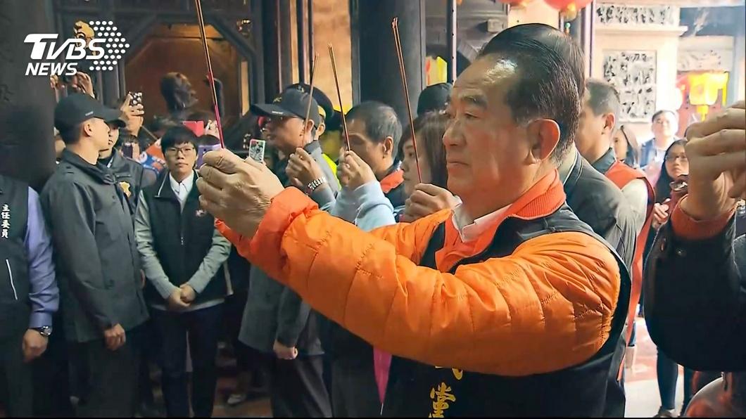 親民黨主席宋楚瑜。圖/TVBS資料畫面 2020總統門票不會缺席 親民黨:人選10月底前公布