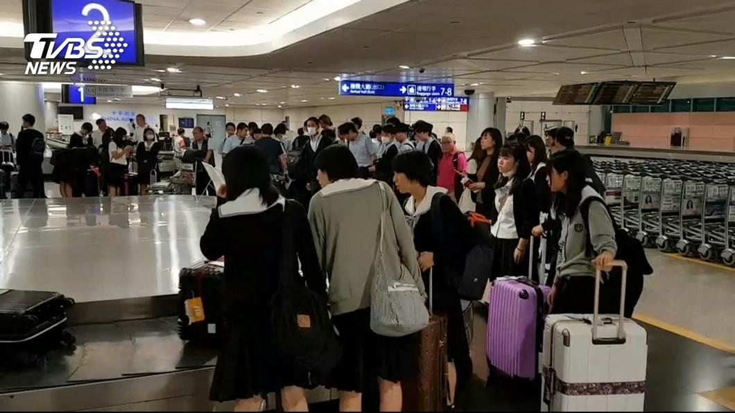 圖/TVBS 風勢過大!東京飛松機轉降桃機 旅客體諒