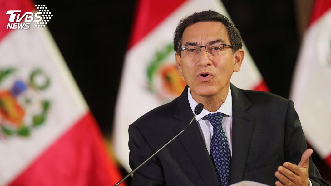 圖/達志影像路透社 秘魯總統宣布解散國會 反對派擬提彈劾動議
