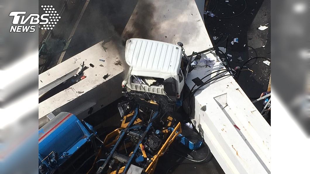 圖/TVBS 南方澳大橋倒塌 運安會啟動首件水公路複合調查