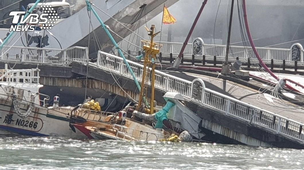 圖/TVBS 南方澳跨港大橋崩塌原因? 內行人分析驚曝2關鍵