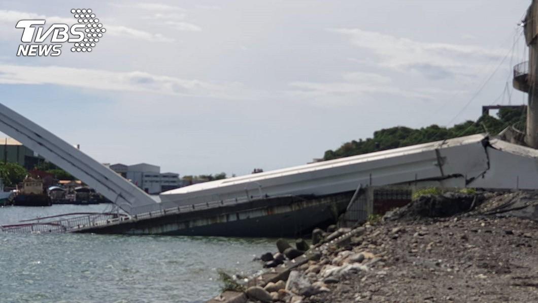 圖/TVBS 南方澳跨港大橋坍塌 衛福部啟動大量傷患機制