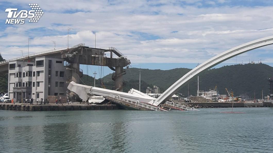 圖/中央社 南方澳大橋坍塌 勞動部:請移工雇主辦職災補償