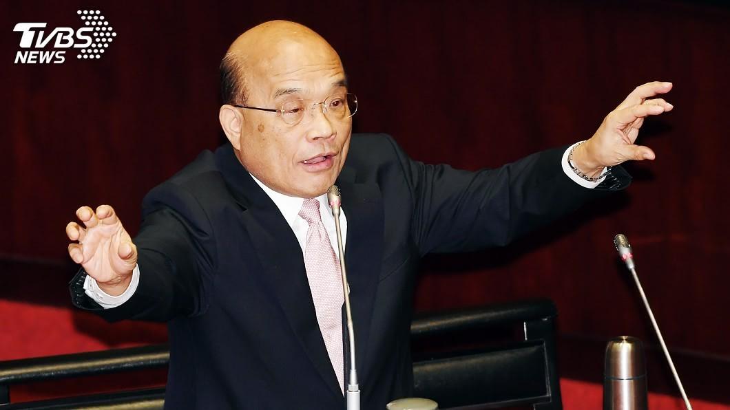 圖/中央社 陳同佳香港獲釋 蘇揆:只要入國門一定抓起來