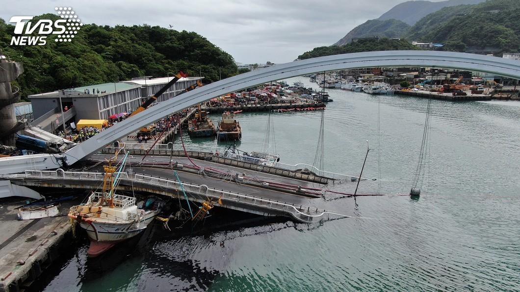 圖/中央社 南方澳大橋事故懲處名單 交通部:下週出爐