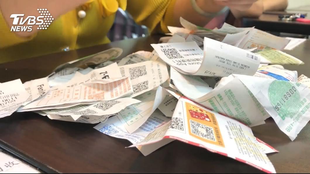 (圖/TVBS) 統一發票200元獎增開 下半年多97.6萬個中獎機會