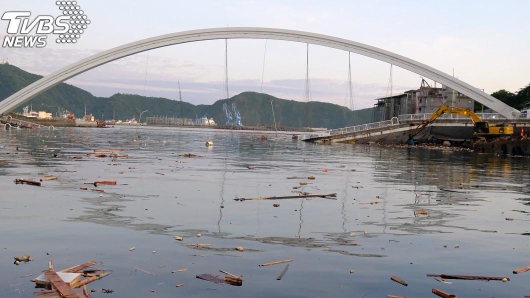 圖/中央社 搜救任務結束… 南方澳斷橋發現最後1名移工遺體