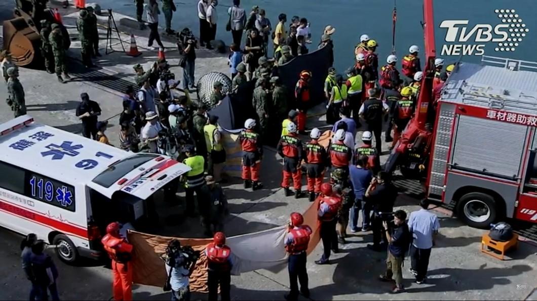 圖/TVBS 不斷更新/南方澳斷橋搜救 14:30尋獲第5具遺體