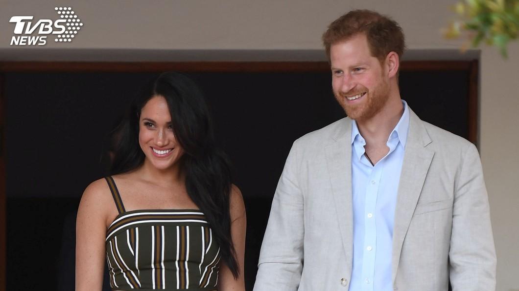 圖/達志影像路透社 憂黛妃噩夢重演 哈利王子挺愛妻梅根告媒體