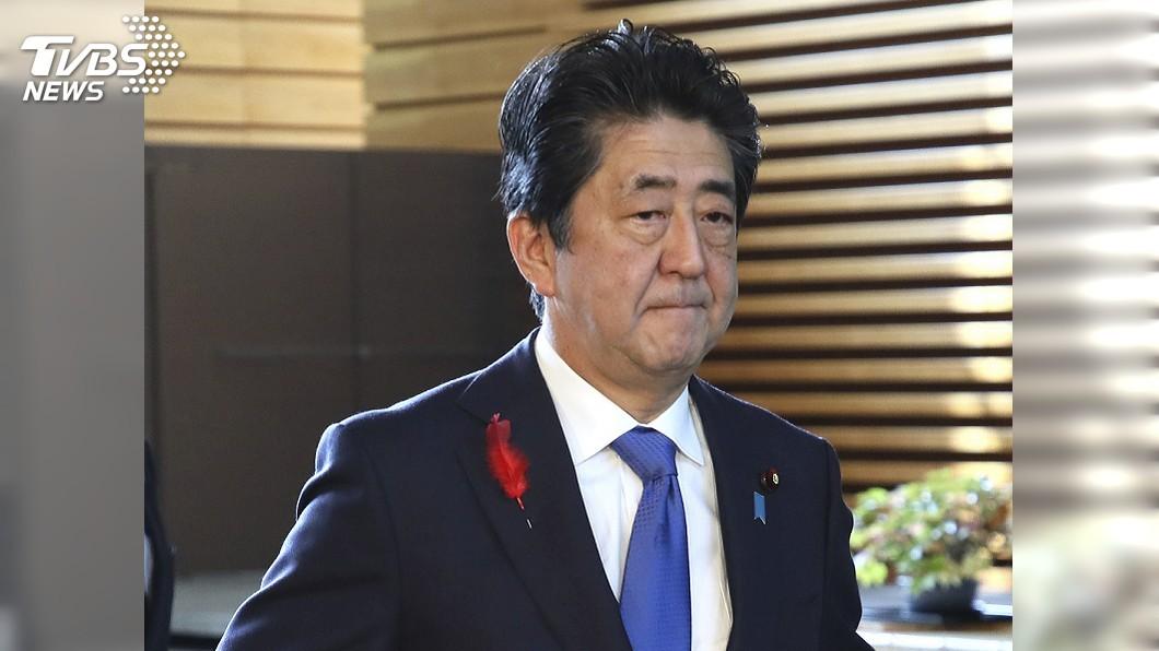 圖/達志影像美聯社 北韓射彈落日本專屬經濟海域 安倍強烈譴責