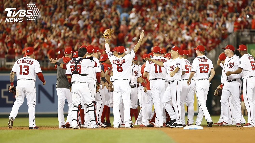 圖/達志影像路透社 MLB國聯外卡殊死戰 國民逆轉挺進分區系列賽