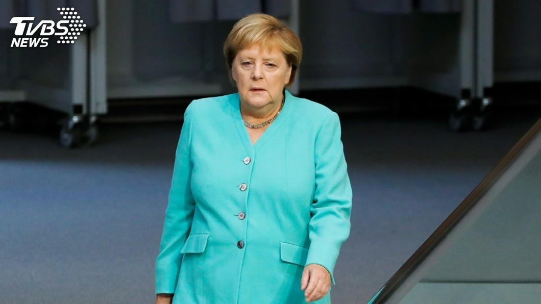 圖/達志影像路透社 梅克爾:全球經濟陰霾 歐洲也難辭其咎