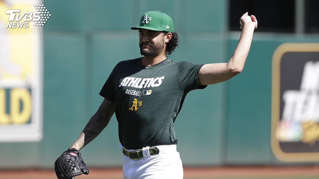 圖/達志影像美聯社 MLB美聯外卡戰 運動家派王牌馬納亞對陣光芒