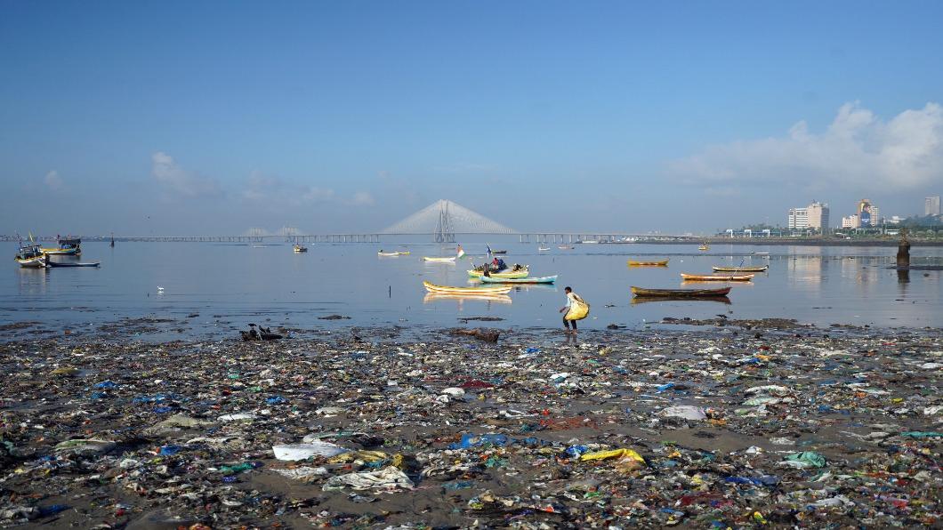 圖/達志影像路透 印度減塑!10/2起禁用六大類一次性塑膠品