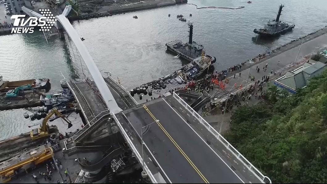 圖/TVBS 南方澳斷橋 港務公司:懲處11月底出爐不只基層