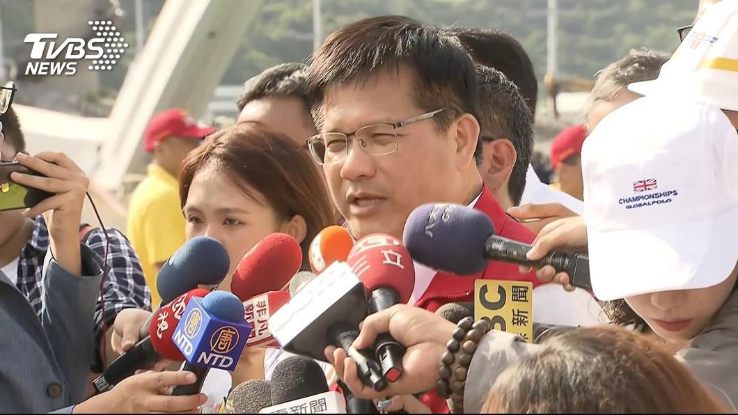林佳龍表示,如果橋樑有安全疑慮不排除封橋。 圖/TVBS 21年未檢測!港務公司還「放生8座橋」 林佳龍怒了