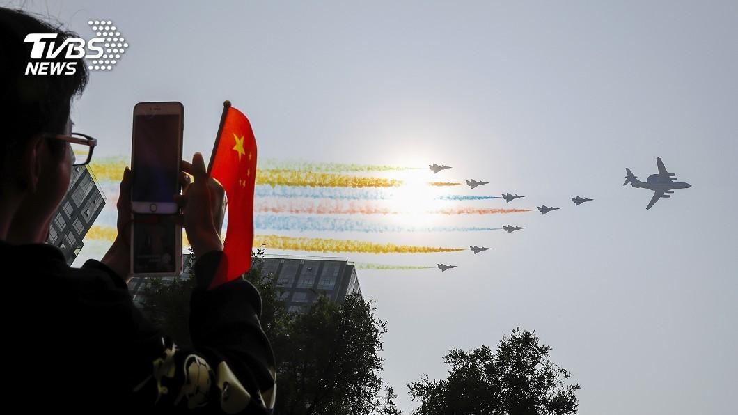 圖/達志影像美聯社 陸閱兵秀新型武器 東風41洲際彈道飛彈首亮相