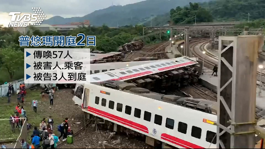 圖/TVBS 「我要真相」!普悠瑪案開庭 家屬批台鐵說謊