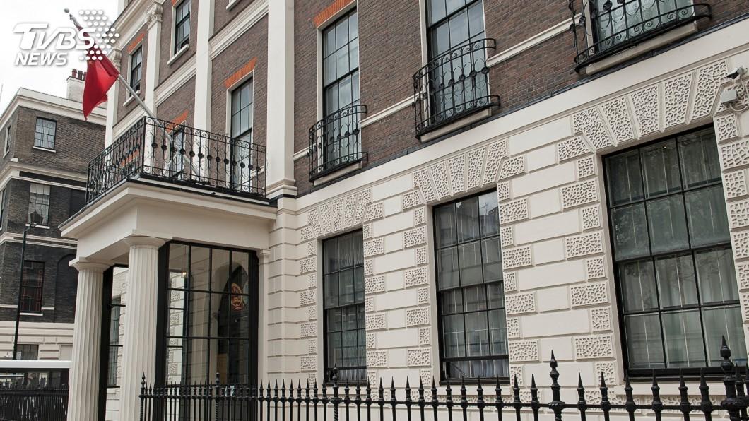 示意圖/TVBS 第一槍! 中國駐英大使館成反送中示威目標